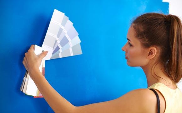 Um imóvel com pintura nova e acabamento interno é um grande atrativo para quem o visita pela primeira vez.